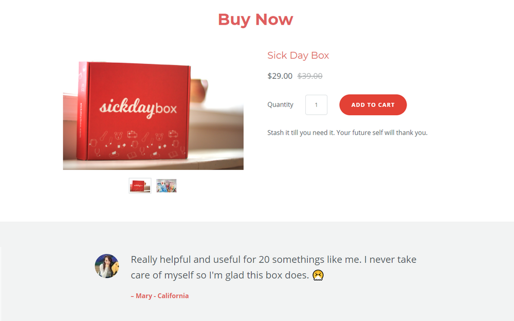 Add social proof to your long-form sales pages