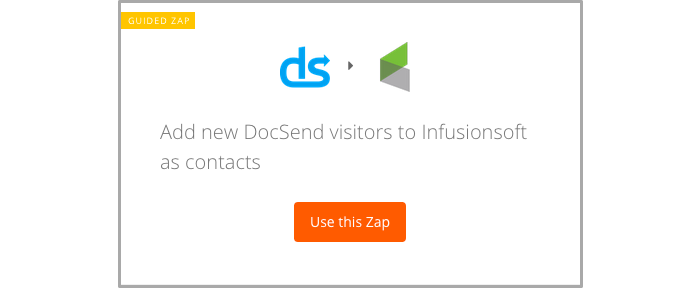Add new DocSend visitors to Infusionsoft as contacts