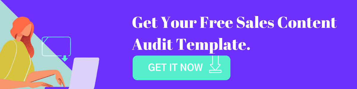 Free Sales Content Audit Template