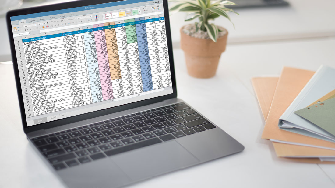 email an excel sheet
