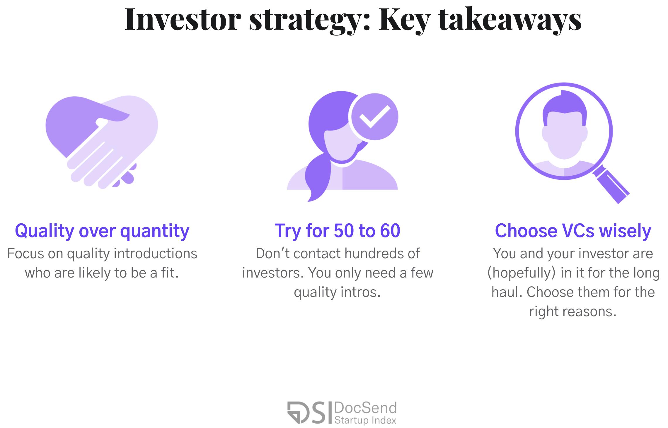 Pre-seed Investor strategy: Key takeaways